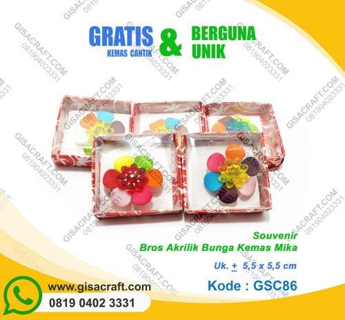 Bros Akrilik Bunga Kemas Mika GSC86