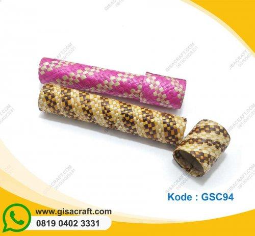 Tempat Pensil Pandan Tabung GSC94