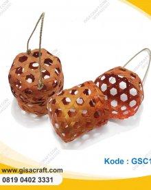 Souvenir Keranjang Mini anyaman Bambu GSC110