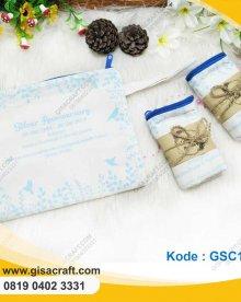 Souvenir Pouch Blacu Besar Lapis Busa GSC114