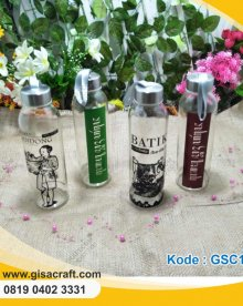 Souvenir My Bottle Kaca Sablon 500 ml GSC129