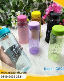 Souvenir My Bottle Warna-Warni + Pouch GSC131