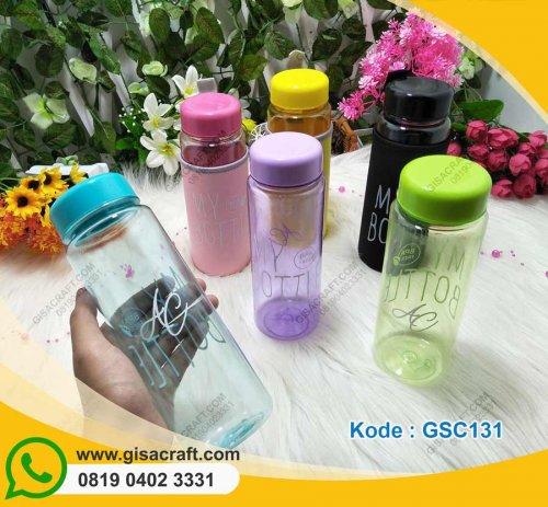 Souvenir My Bottle Warna-Warni + Pouch GSC131