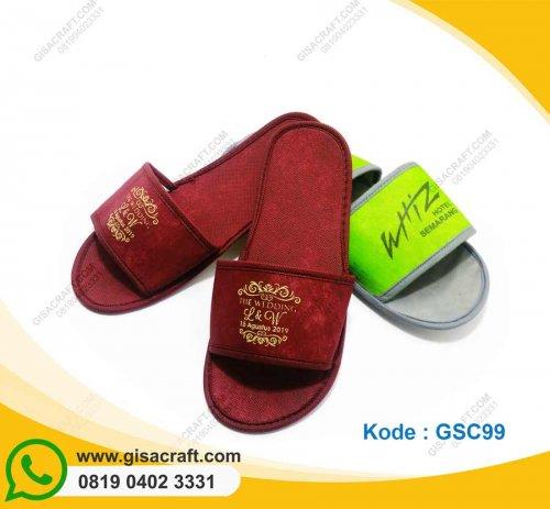 Sendal Hotel Lapis Kain Furing GSC99